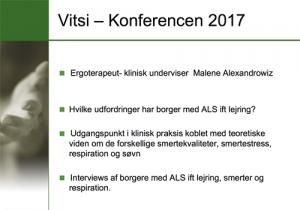 """Powerpoint forside af præsentationen """"Lejring ved ALS"""""""